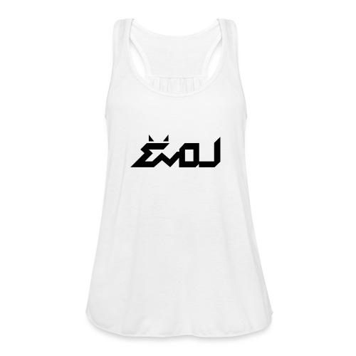 evol logo - Women's Flowy Tank Top by Bella