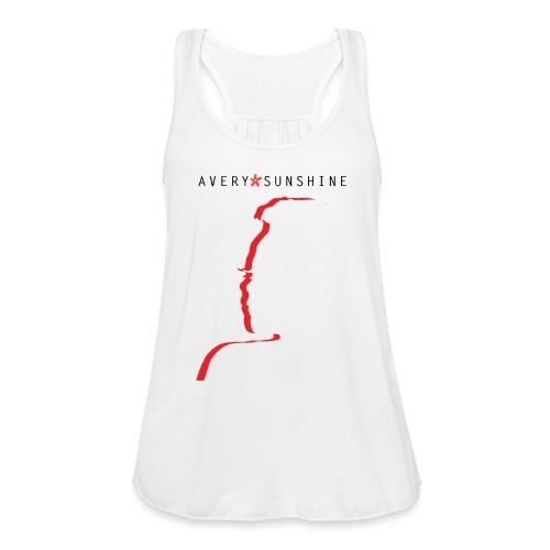 Avery*Sunshine Silhoette II - Women's Flowy Tank Top by Bella