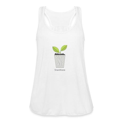 ShareWaste logo - Women's Flowy Tank Top by Bella