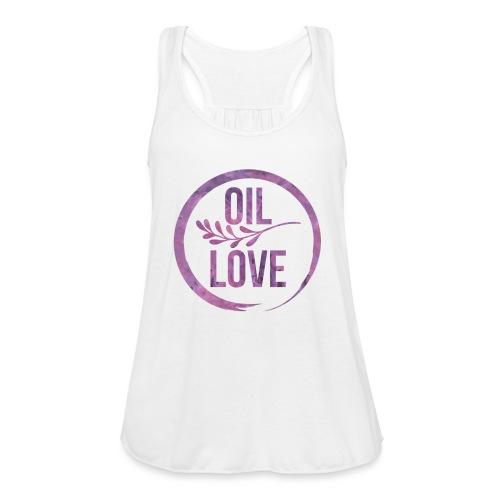 Oil Love Purple - Women's Flowy Tank Top by Bella