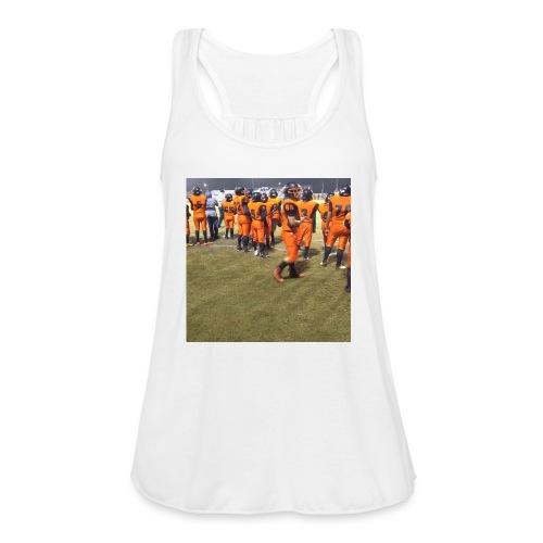 Football team - Women's Flowy Tank Top by Bella