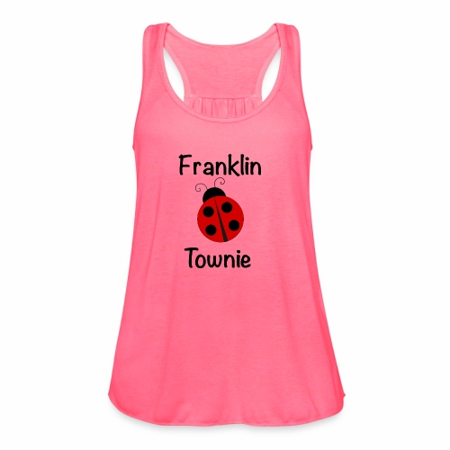 Franklin Townie Ladybug - Women's Flowy Tank Top by Bella