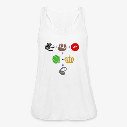 walrus and the carpenter - Women's Flowy Tank Top by Bella