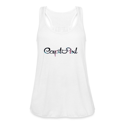 My YouTube Watermark - Women's Flowy Tank Top by Bella