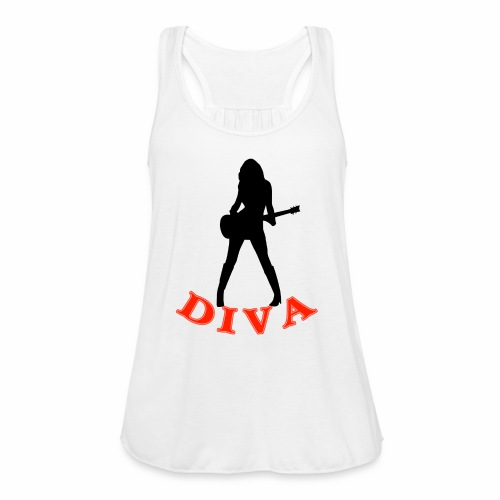 Rock Star Diva - Women's Flowy Tank Top by Bella