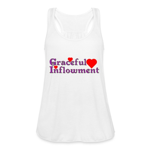 Graceful Inflowment - Women's Flowy Tank Top by Bella