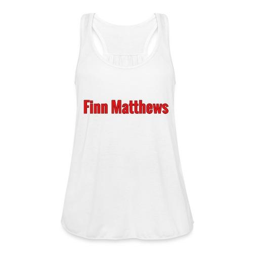 FM Logo - Women's Flowy Tank Top by Bella