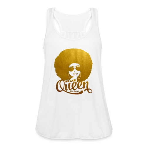 Black Queen - Women's Flowy Tank Top by Bella