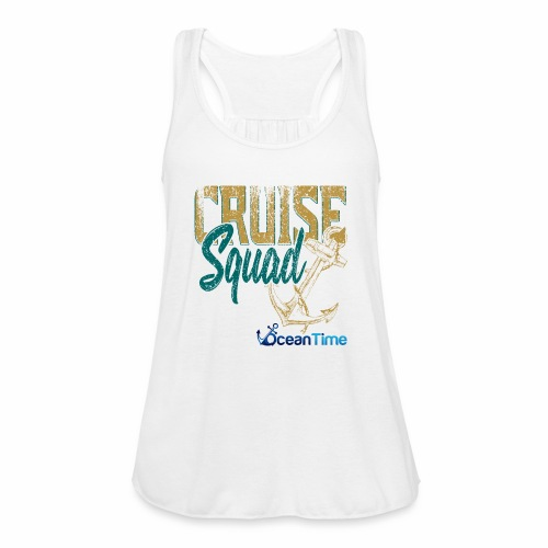 Cruise Squad - Women's Flowy Tank Top by Bella