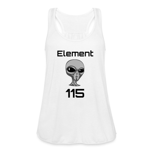 Element 115 - Women's Flowy Tank Top by Bella