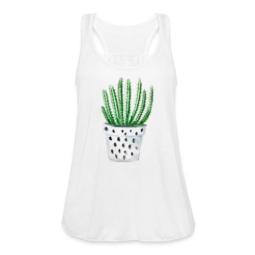 Cactus - Women's Flowy Tank Top by Bella