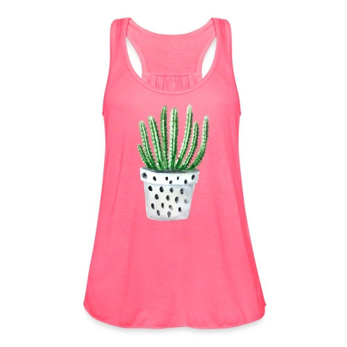 Cactus - Women's Flowy Tank Top by Bella