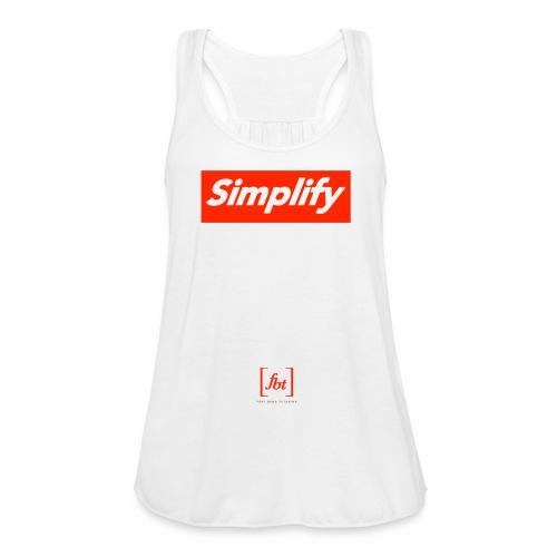 Simplify [fbt] - Women's Flowy Tank Top by Bella