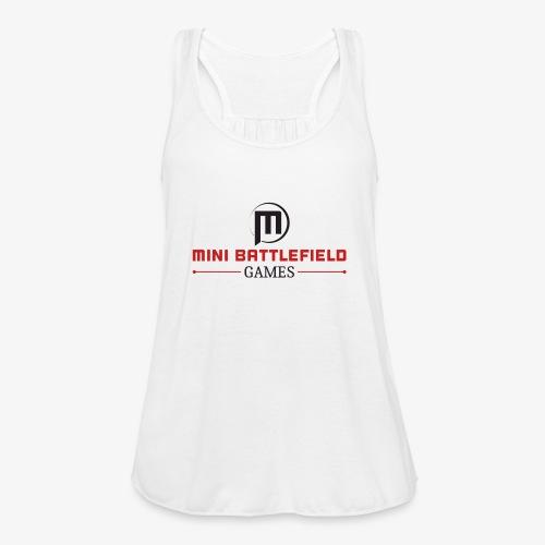 Mini Battlefield Games Logo - Women's Flowy Tank Top by Bella