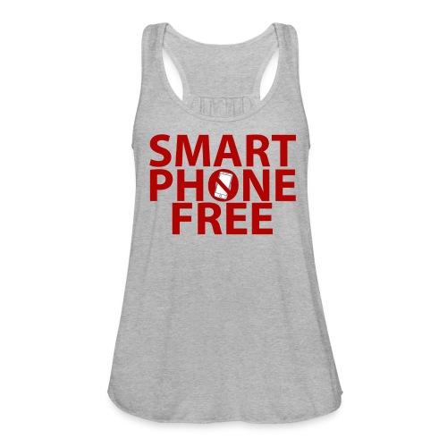 SMART PHONE FREE - Women's Flowy Tank Top by Bella