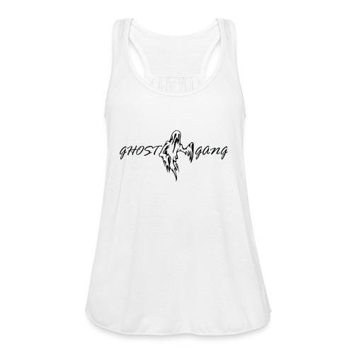 GhostGang Logo - Women's Flowy Tank Top by Bella