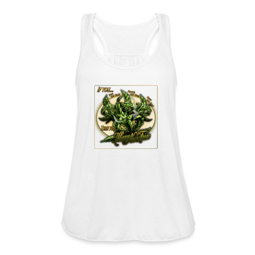 See No Bud by RollinLow - Women's Flowy Tank Top by Bella