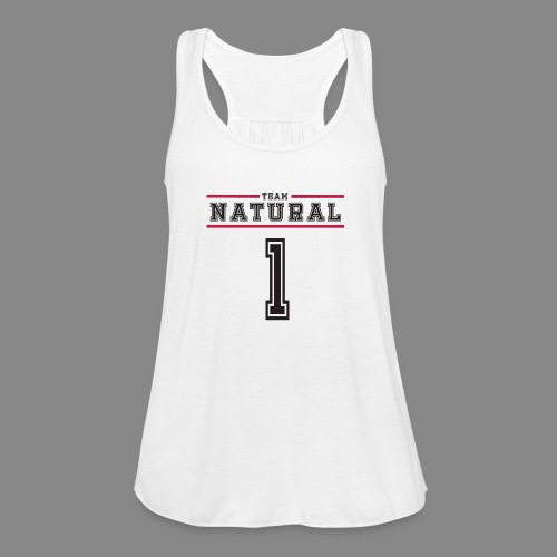 Team Natural 1 - Women's Flowy Tank Top by Bella