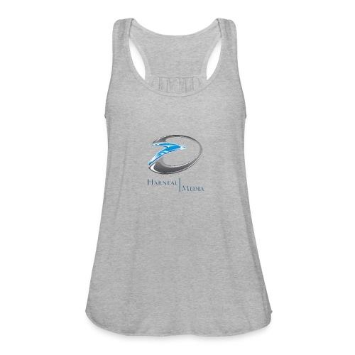 Harneal Media Logo Products - Women's Flowy Tank Top by Bella