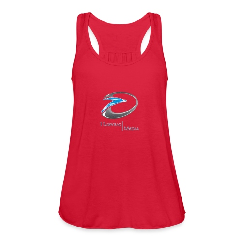 Harneal Media Logo Products - Women's Flowy Tank Top by Bella