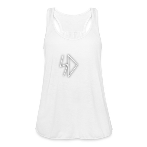 Sid logo white - Women's Flowy Tank Top by Bella