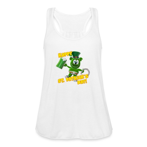 Gummibär (The Gummy Bear) Saint Patrick's Day - Women's Flowy Tank Top by Bella