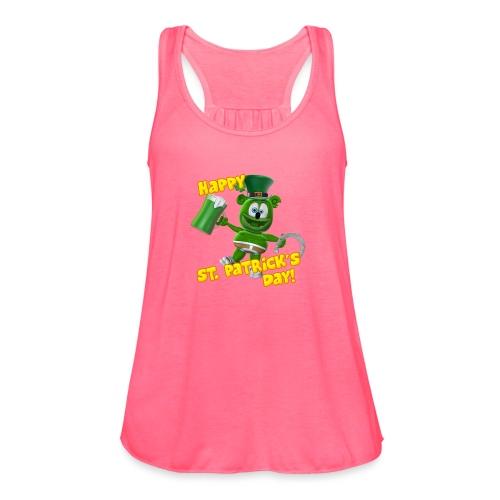 Gummibär (The Gummy Bear) Saint Patrick's Day - Women's Flowy Tank Top by Bella
