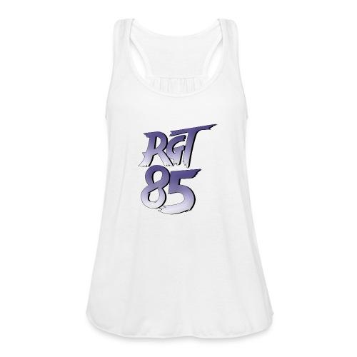 RGT 85 Logo - Women's Flowy Tank Top by Bella