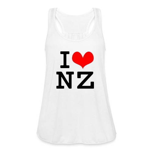 I Love NZ - Women's Flowy Tank Top by Bella