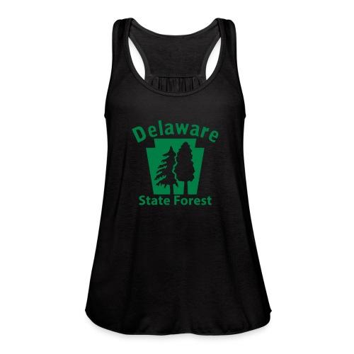 Delaware State Forest Keystone (w/trees) - Women's Flowy Tank Top by Bella