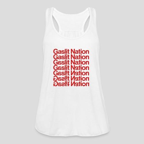 Gaslit Nation - Women's Flowy Tank Top by Bella