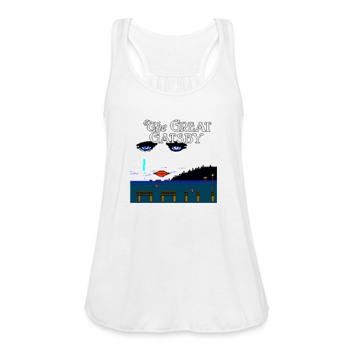 Great Gatsby Game Tri-blend Vintage Tee - Women's Flowy Tank Top by Bella