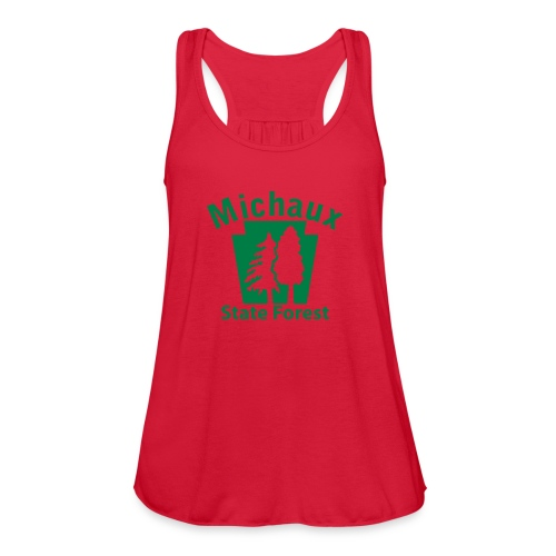 Michaux State Forest Keystone (w/trees) - Women's Flowy Tank Top by Bella