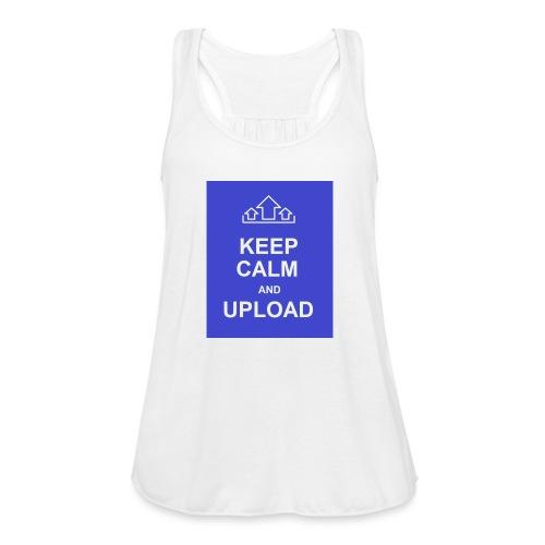 RockoWear Keep Calm - Women's Flowy Tank Top by Bella