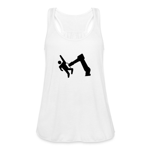 Robot Wins! - Women's Flowy Tank Top by Bella