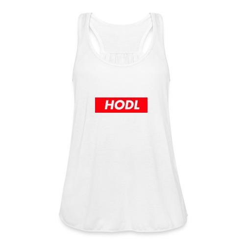 Hodl BoxLogo - Women's Flowy Tank Top by Bella