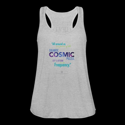 Cosmic Puzzle Mug - Women's Flowy Tank Top by Bella