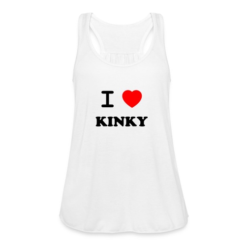 I Love Kinky - Women's Flowy Tank Top by Bella