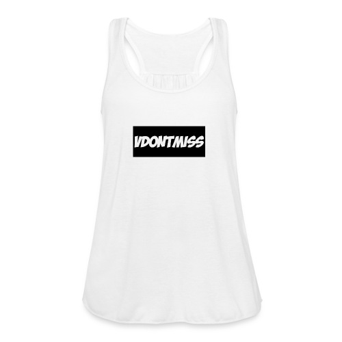 vDontMiss Nation - Women's Flowy Tank Top by Bella