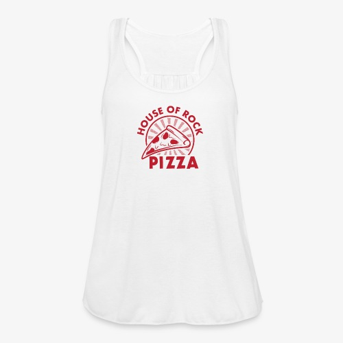 HOR Pizza Red - Women's Flowy Tank Top by Bella
