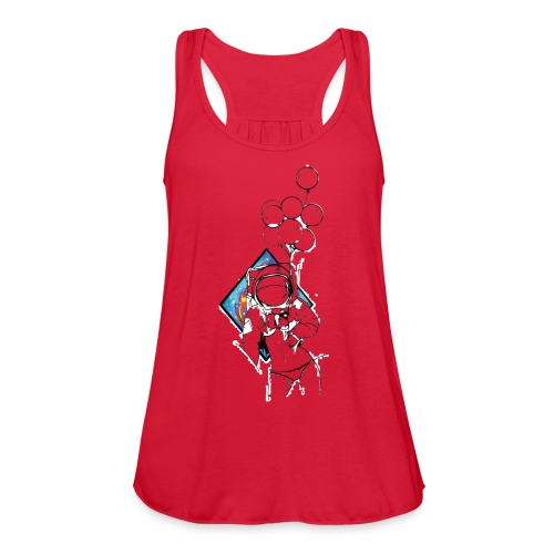 Astronaute - Art'Norme - Women's Flowy Tank Top by Bella