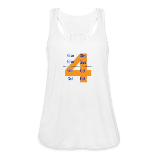 Forgive & Forget - Women's Flowy Tank Top by Bella