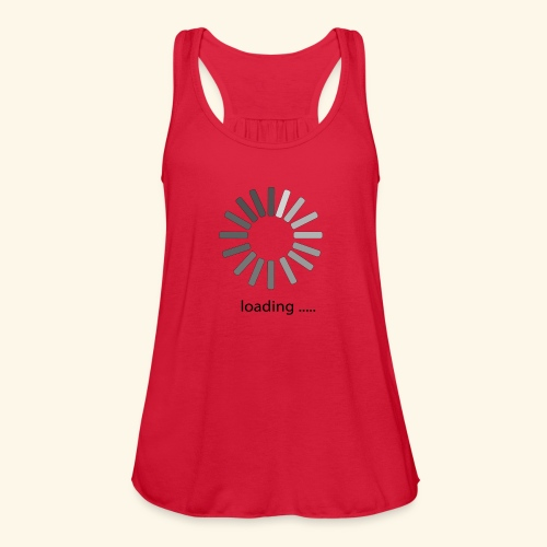 poster 1 loading - Women's Flowy Tank Top by Bella