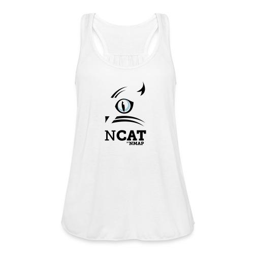 nmap ncat - Women's Flowy Tank Top by Bella