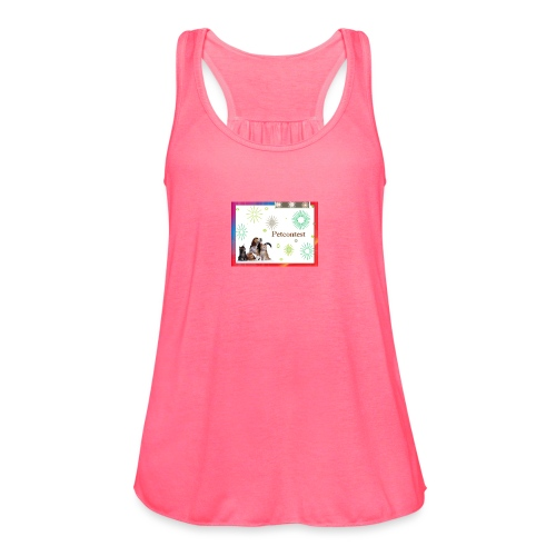 animals - Women's Flowy Tank Top by Bella