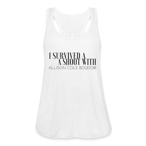 I SURVIVED - Women's Flowy Tank Top by Bella