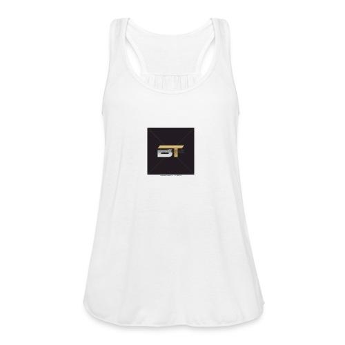 BT logo golden - Women's Flowy Tank Top by Bella