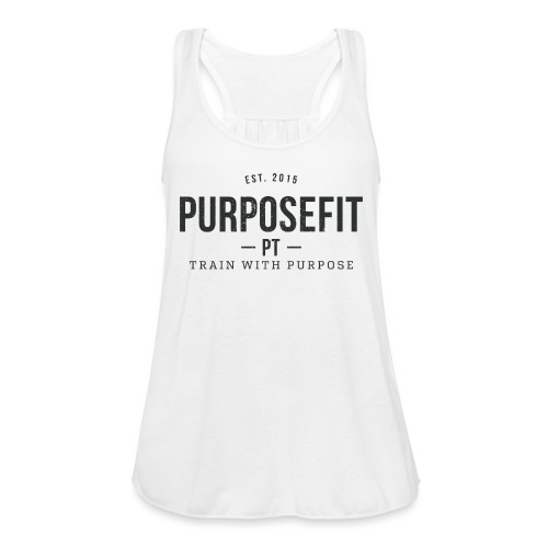 transparent png - Women's Flowy Tank Top by Bella