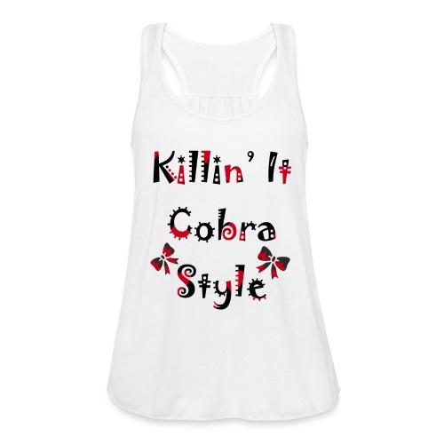 Killin' It Cobra - Women's Flowy Tank Top by Bella