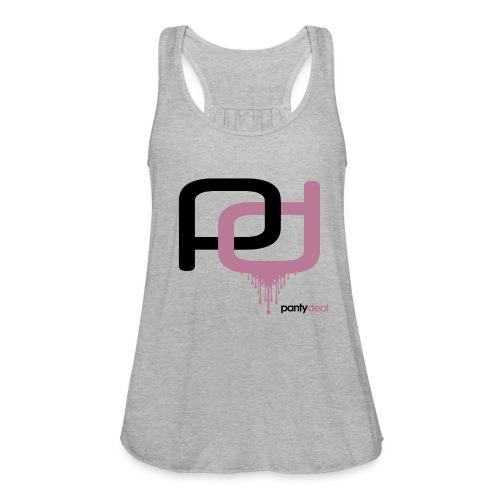 Logo Shirt - Women's Flowy Tank Top by Bella